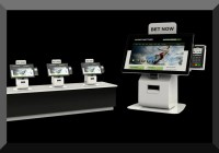 sports betting kiosk Olea countertop