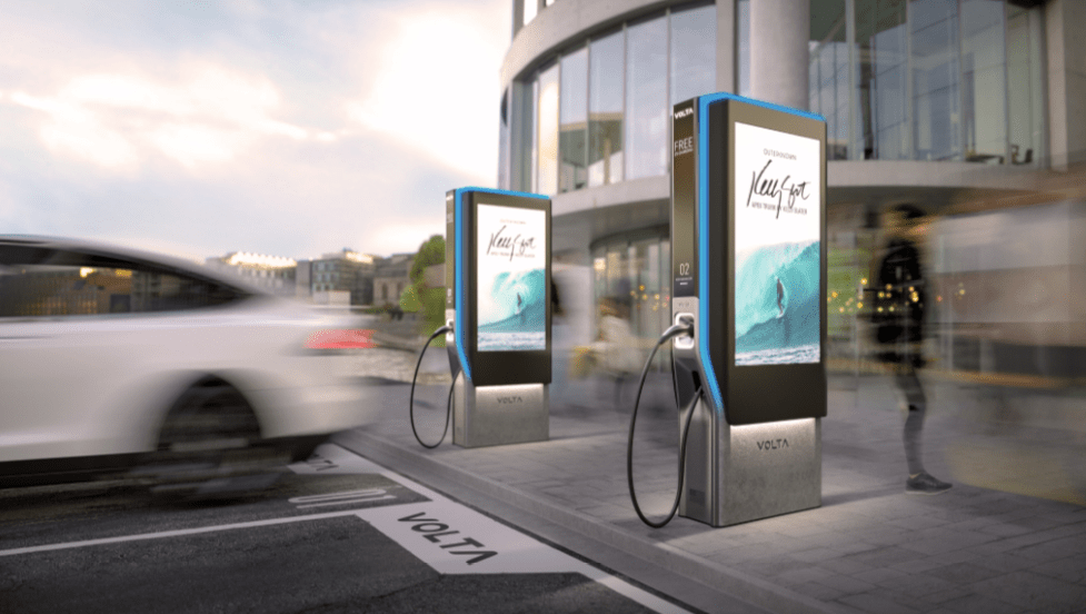 Charging EV Stations – Peerless-AV and Volta Bring Next Level Electric Vehicle Charging Stations to the Market