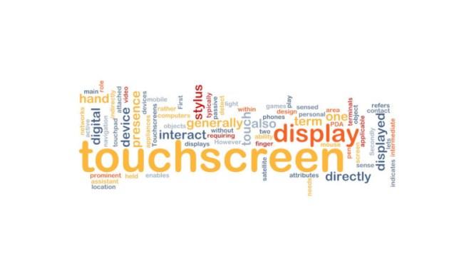 touchscreen treatment
