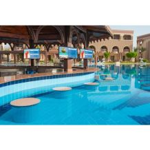 Xtreme High Bright Outdoor Displays Application_Hotel Pool