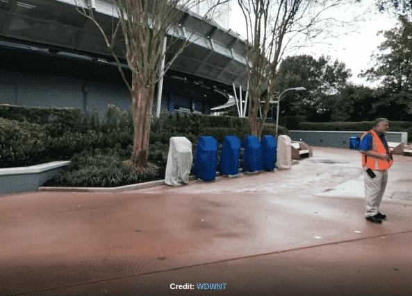 Disney Epcot Kiosks
