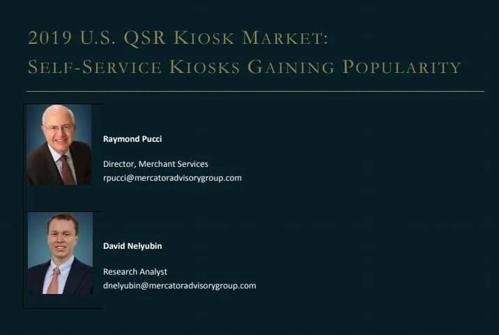 2019 U.S. QSR Kiosk Market – Mercator