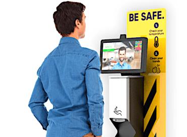 fever detection kiosk