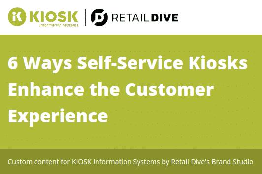 Self-Service Kiosk Benefits