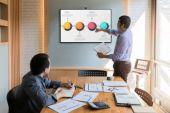Peerless SF640-HUB2 SmartMount Flat Wall Mount for Microsoft Surface Hub 2S and 2X_Application 2
