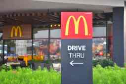 McDonalds Drive Thru Kiosks