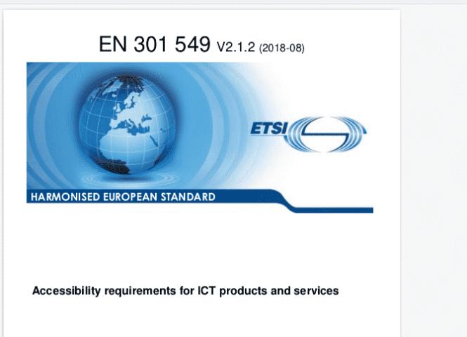 Europe ADA Standards