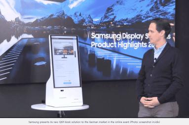 Samsung Kiosk Model for Germany