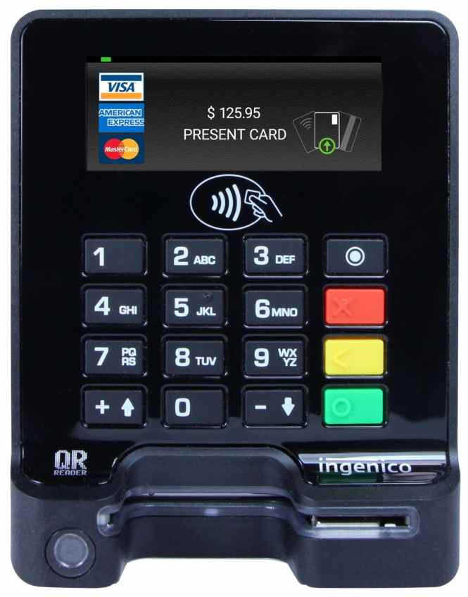 PCI Compliance Credit Card Reader