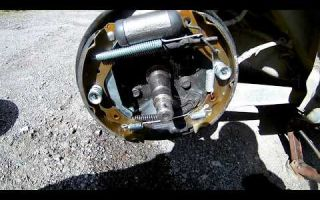 Замена задних тормозных колодок матиз - Автомастер