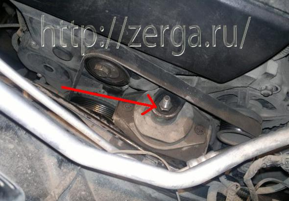 Замена ремня генератора ваз 2110 с гур - Автомастер