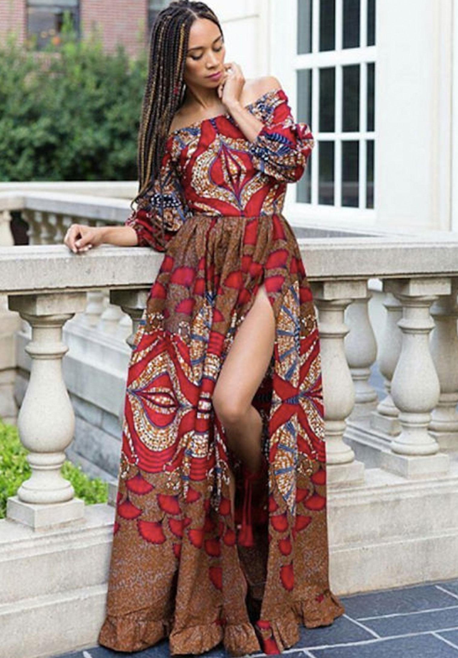 Stylish African Attire Womens Dress - Kipfashion