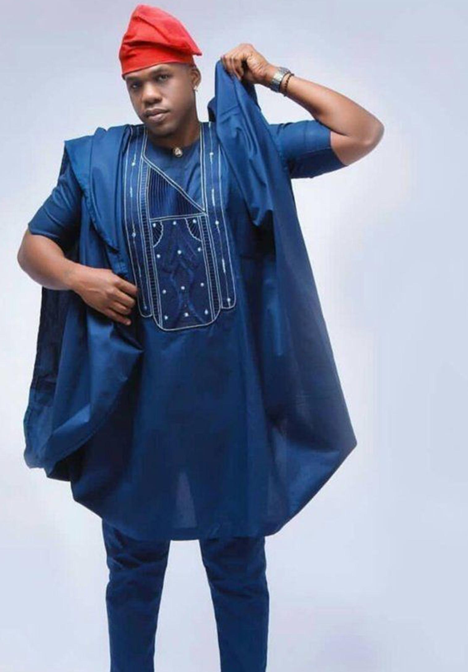 Nigerian Agbada outfit for men - Kipfashion