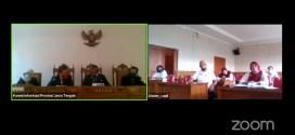 Legal Standing Pemohon Tidak Lengkap, Majelis Komisioner membacakan Putusan Sela