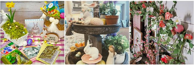 More Easter Craft and Decor Ideas