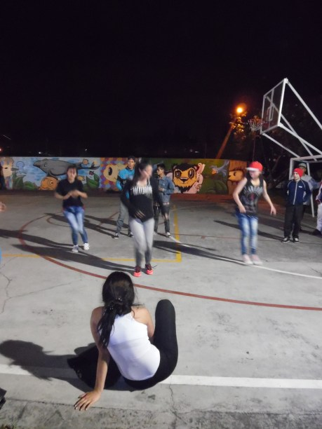 Vorstellung der Breakdance-Gruppe