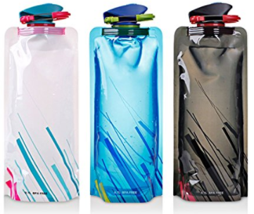 Foldable Water Bottles, Gift ideas for friends going travelling, budget travel gift ideas