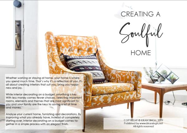 Creating a Soulful Home