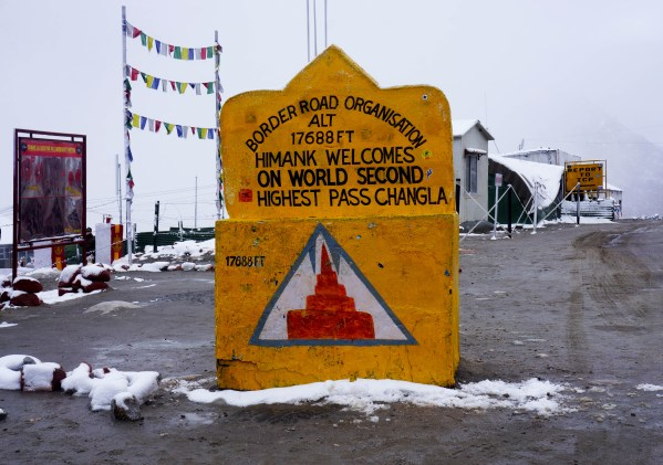 Changla Pass is The second highest Motorable Mountain Road In The World