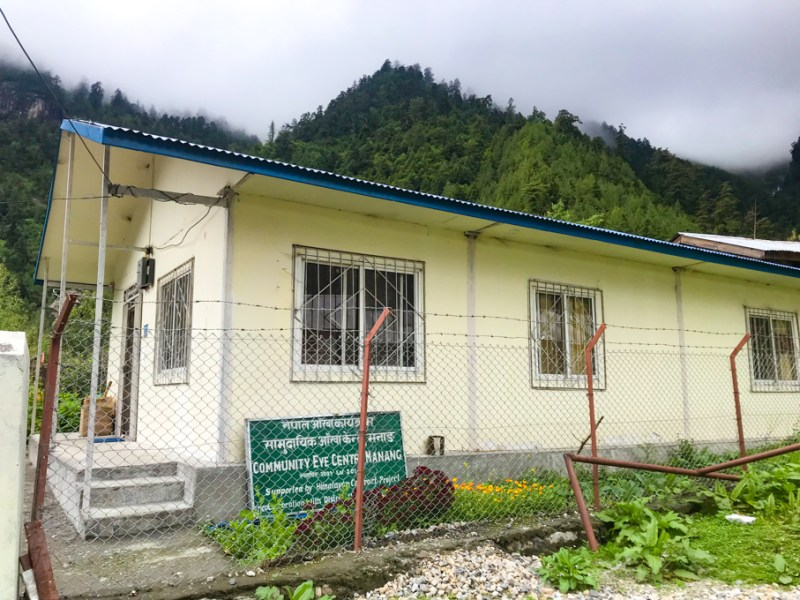 District Community Eye Centre Chame Manang