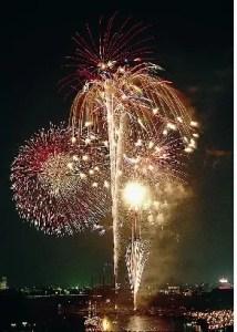 岡崎の花火