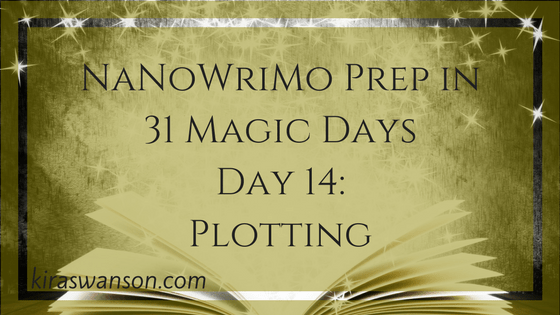 Day 14: 31 Magic Days of NaNoWriMo Prep
