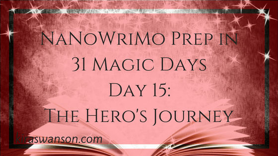 Day 15: 31 Magic Days of NaNoWriMo Prep