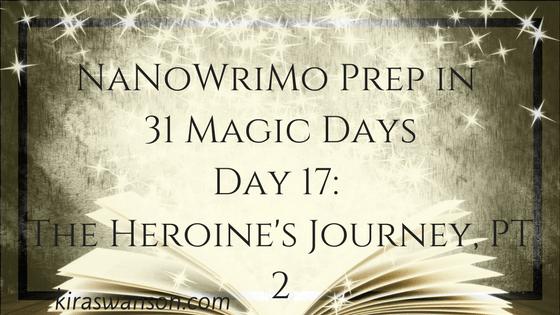 Day 17: 31 Magic Days of NaNoWriMo Prep