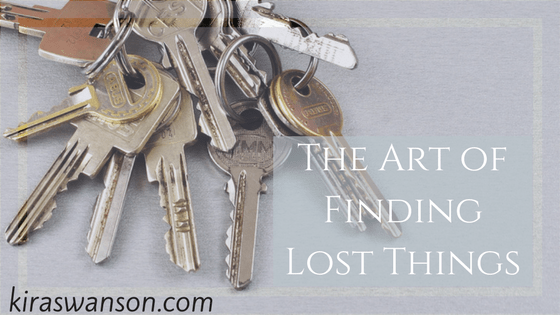 The Art of Finding Lost Things