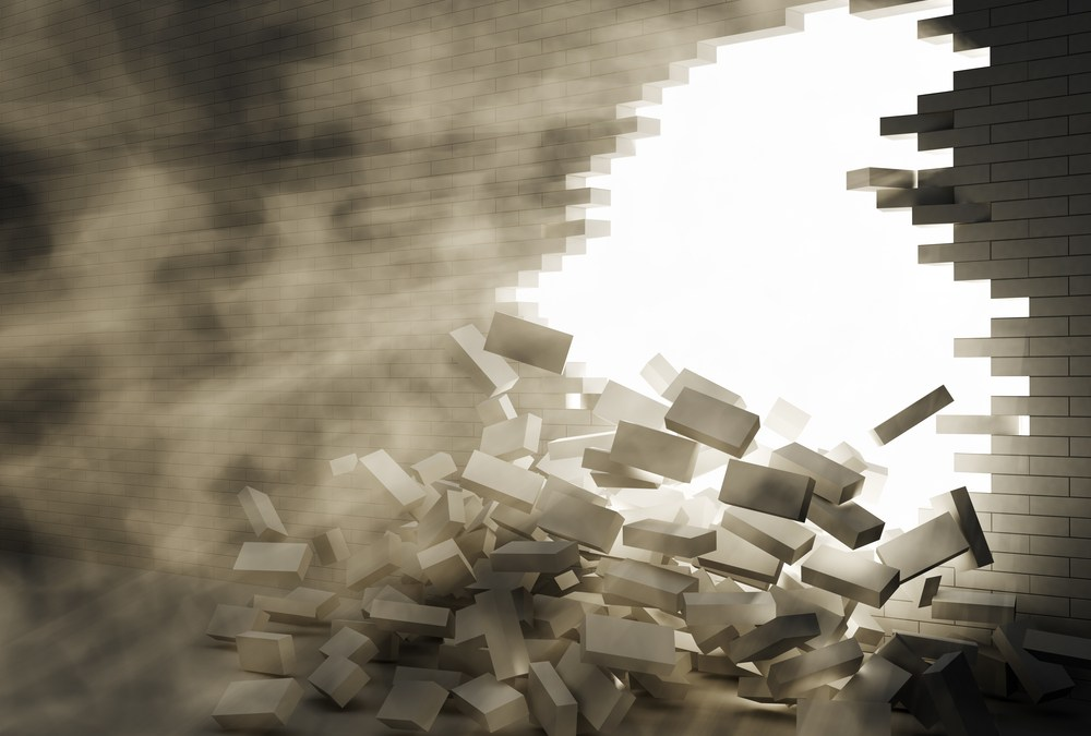 Writer's Block: 4 Ways to Tear Down the Wall