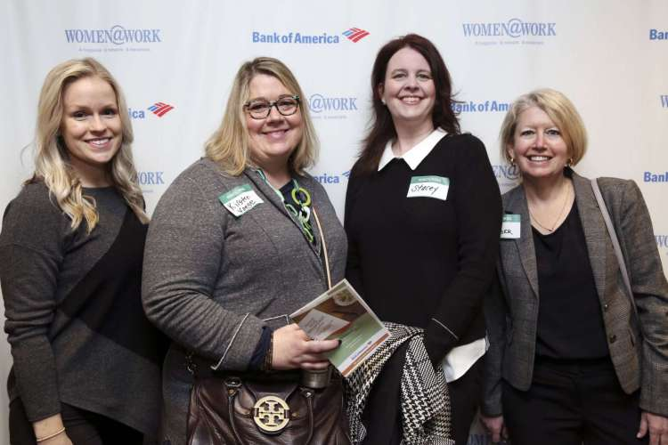 photo of attendees at March 11,2020, Women@work event