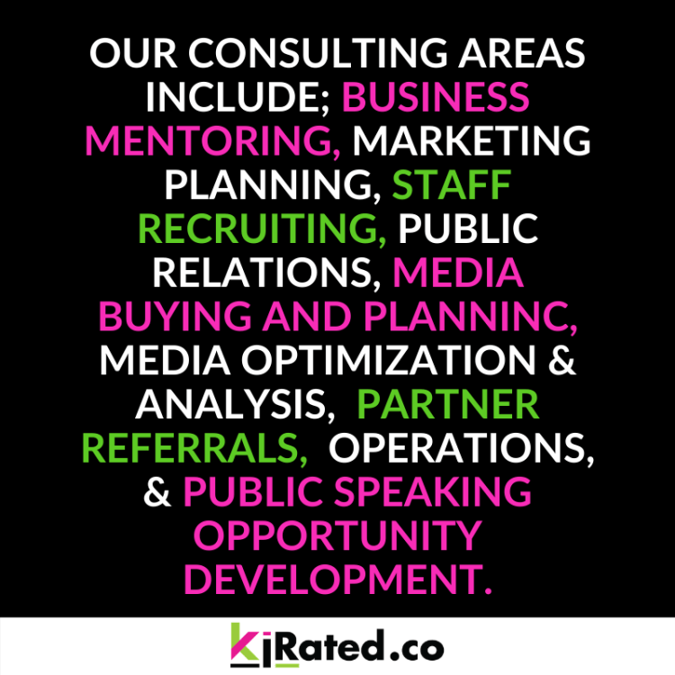 KIRated Communications offers branding, business development and consulting services CALL 518 KIRATED to get the conversation started.