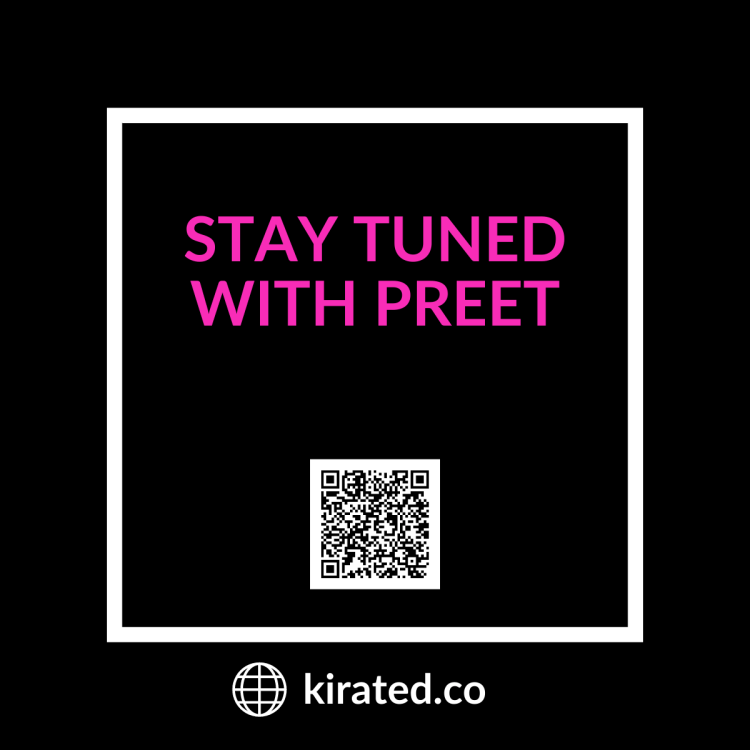 PODCAST: Stay Tuned with Preet with QR Code TOP PODCASTS