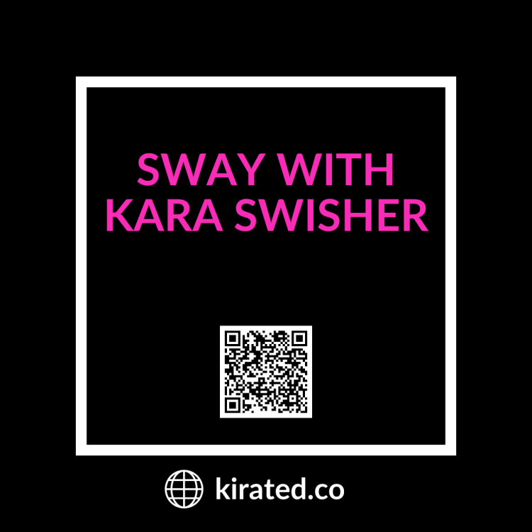 Podcast: Sway with Kara Swisher with QR Code TOP PODCASTS