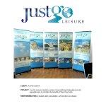 Just Go Leisure Banner Set