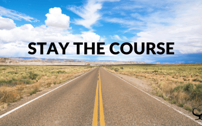 2 Ways To Stay The Course