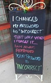PasswordIncorrect