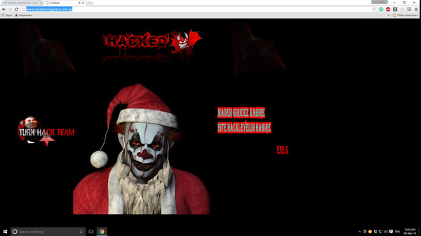 Incident: Dandenong Plaza website hacked to show a disturbing image of a clown | Dandenong Journal