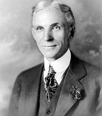 "Henry Ford ""The only real security that a man can have in this world is a reserve of knowledge, experience and ability."""