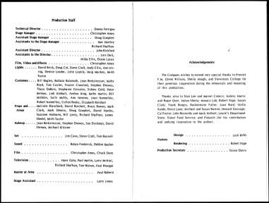 1969 - Julius Caesar program p5-p6 photocopy