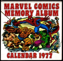 1977 Marvel Comics Memory Album cover