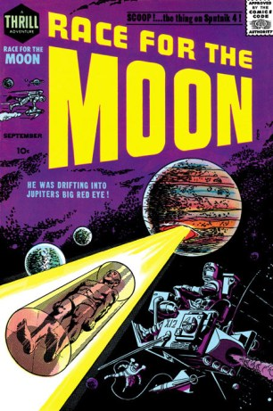 1958 - Race For The Moon 2 cover