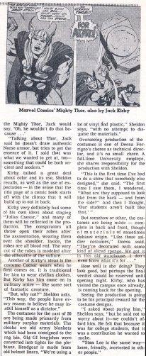 "1969 May 3 - ""Caesar Seen Marvel-ously"" part 4 photocopy"