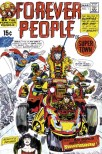 1971 - Forever People 1 cover color guide