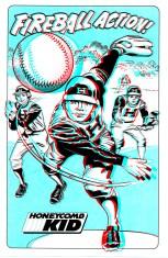 1983 - Fireball Action 3-D poster