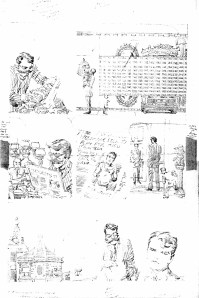 1962 - Newly discovered Hulk 6 unused page 8 pencil art