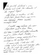 Handwritten notes signed by Jack Kirby - page 3