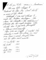 Handwritten notes signed by Jack Kirby - page 4
