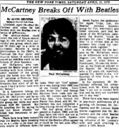 21 - Beatles Newspaper