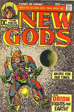21 - New Gods 1 cover